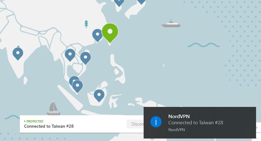 Nordvpn翻牆成功