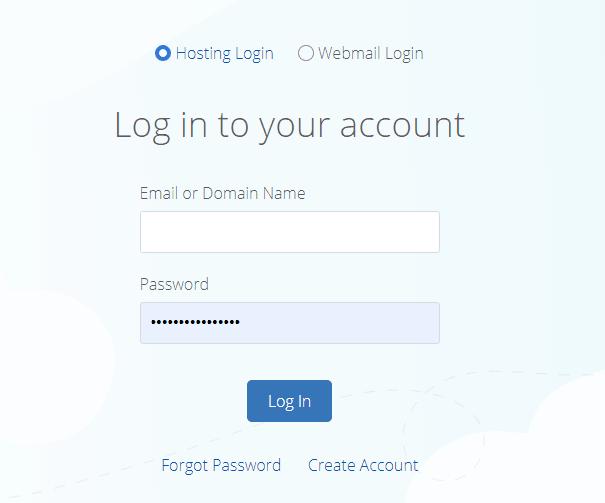 bluehost login