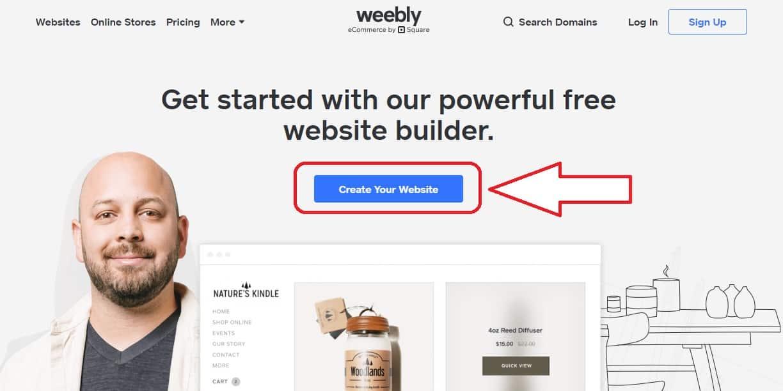 Weebly 註冊教學 - 1
