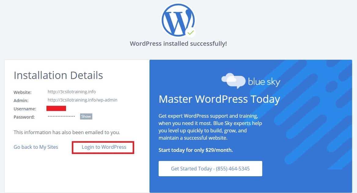 bluehost wordpress 安裝-5