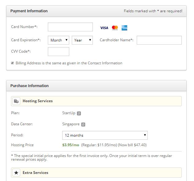 siteground 註冊教學 - 5