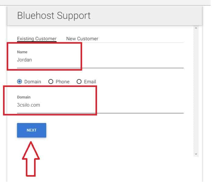 Bluehost 客服 - 2