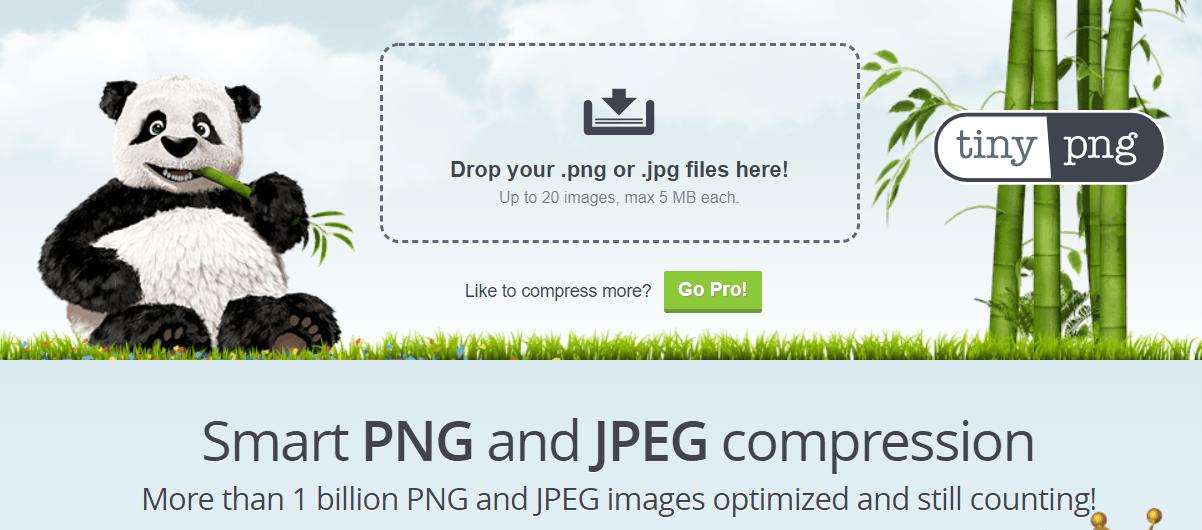 TinyPNG 首頁