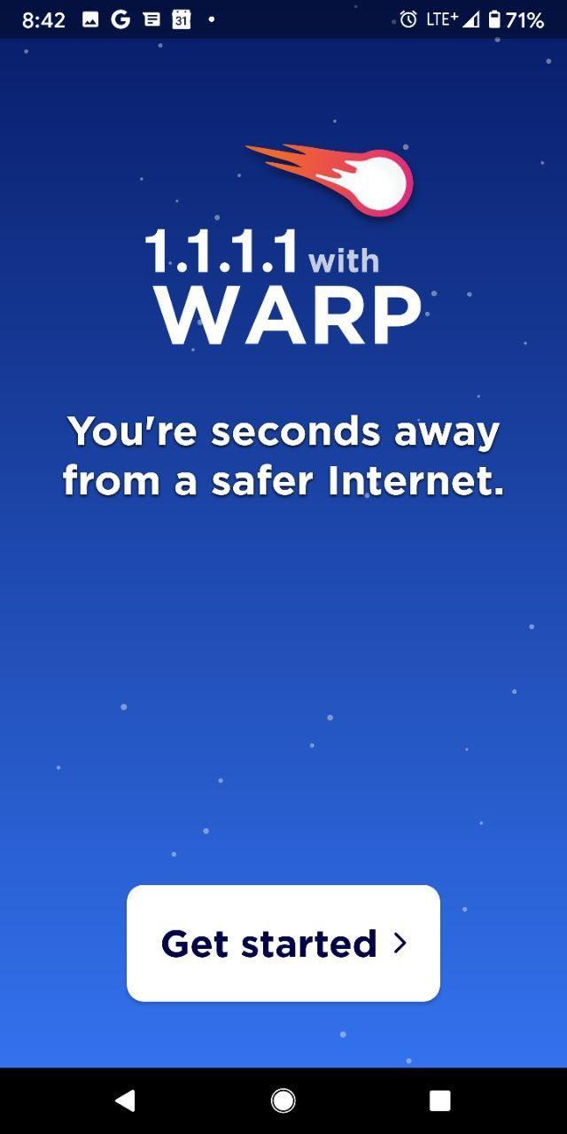 1.1.1.1 DNS WARP