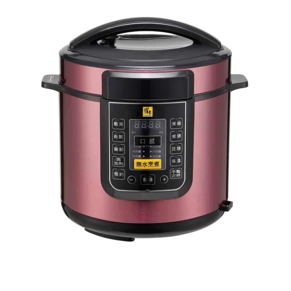 【CookPower 鍋寶】智慧型微電腦萬用壓力鍋 6102