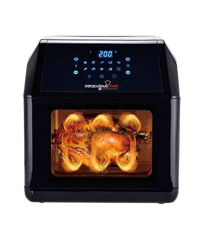 【Copper Chef】智能大容量氣炸烤箱旗艦組-黑色(EL18001-10100)