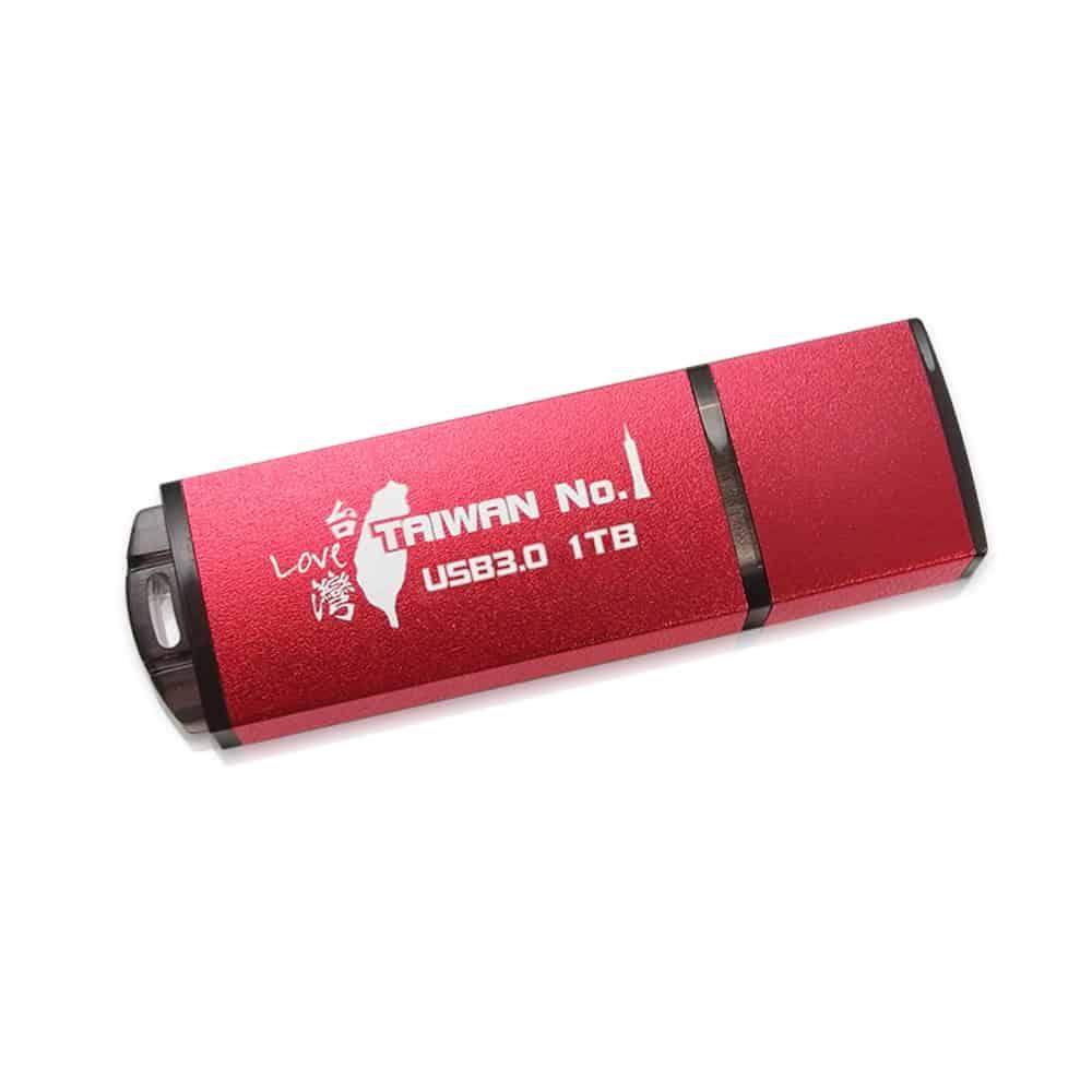 【TCELL 冠元】USB 3.0 1TB 隨身碟