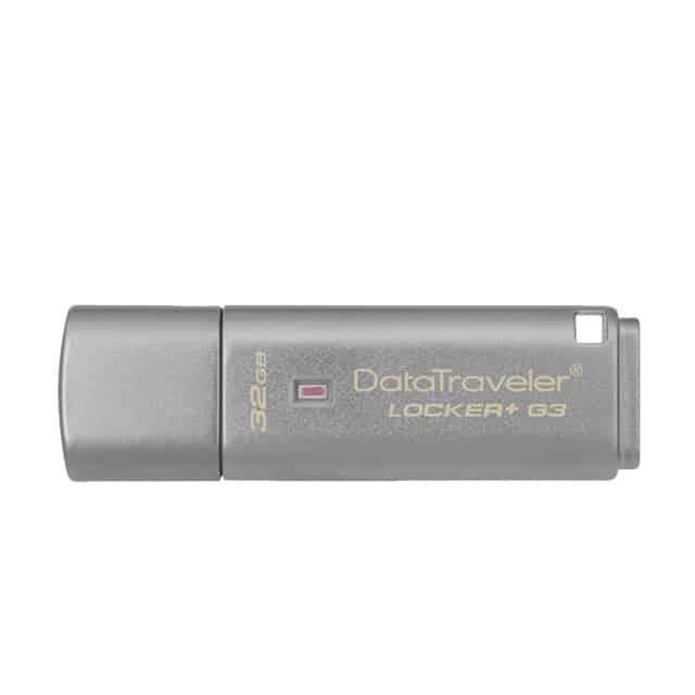 金士頓 DataTraveler Locker G3-1 USB 隨身碟
