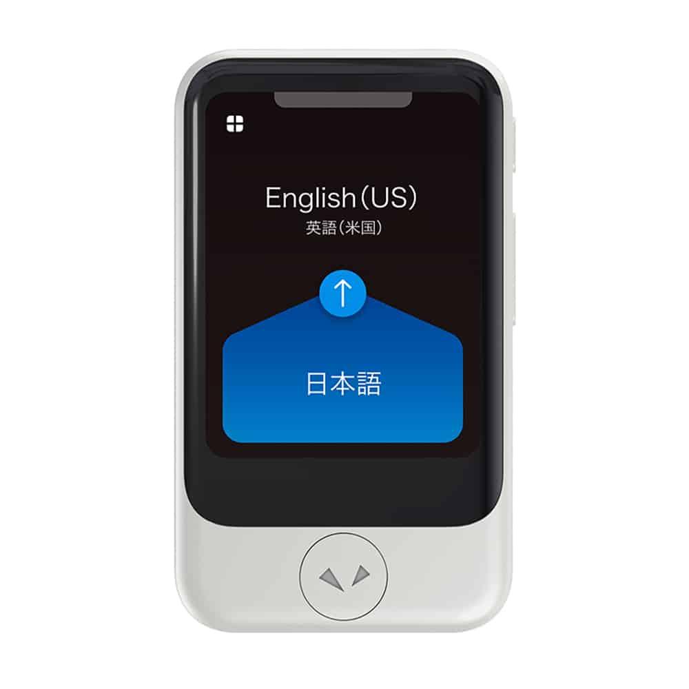 【日本 PockeTalk】S 名片型 雙向翻譯機