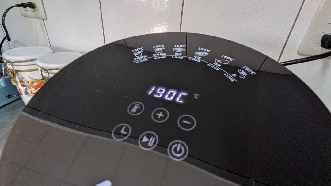 伊德爾各種料理時間溫度標示