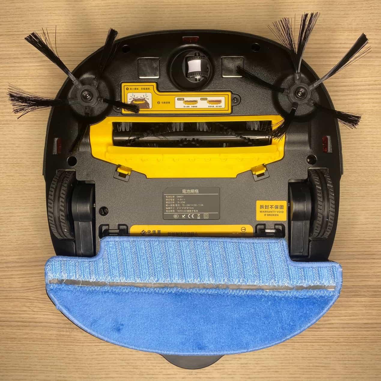 伊德爾掃地機器人乾溼清潔