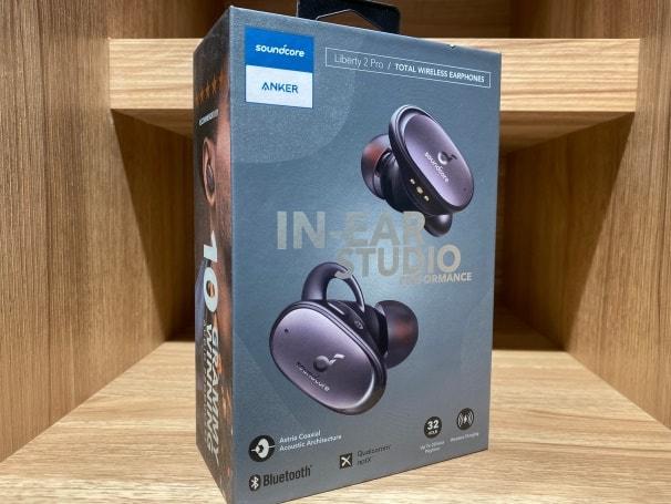 【ANKER】 Soundcore Liberty 2 Pro 真無線藍牙耳機包裝