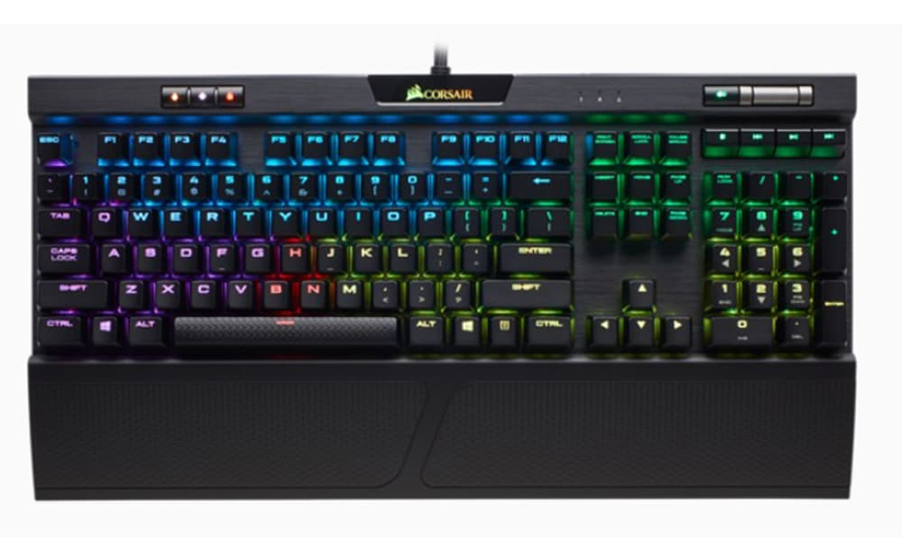 【CORSAIR 海盜船】K70 RGB MK.2 電競鍵盤