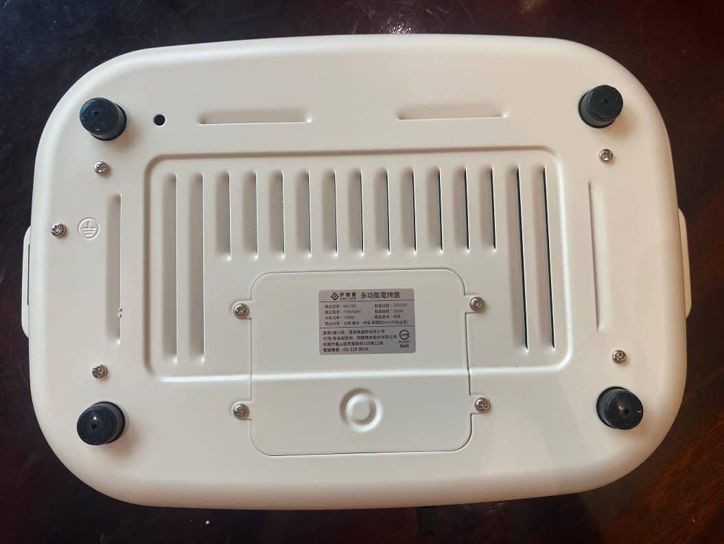 伊德爾電烤盤底層
