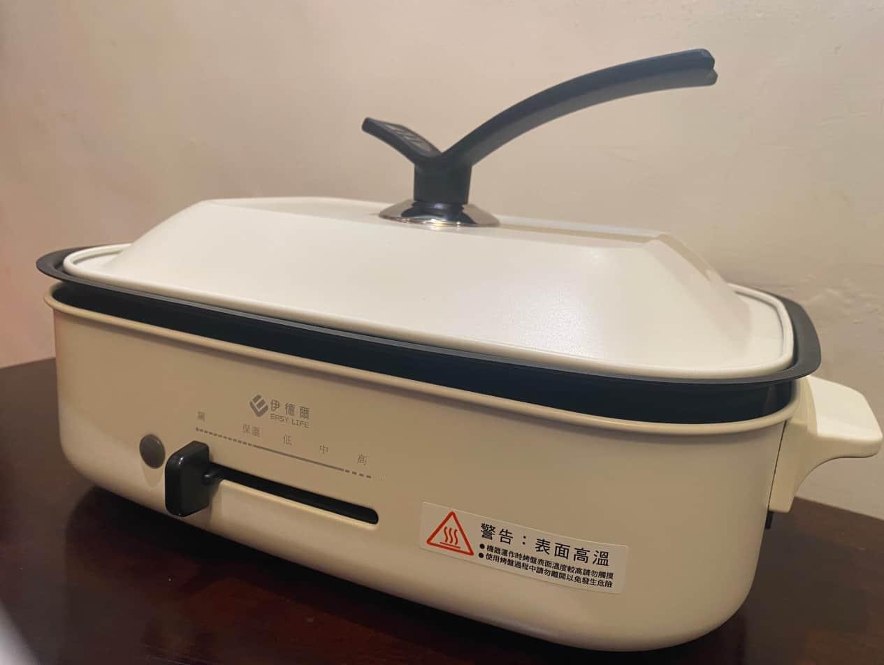 伊德爾電烤盤整體外觀