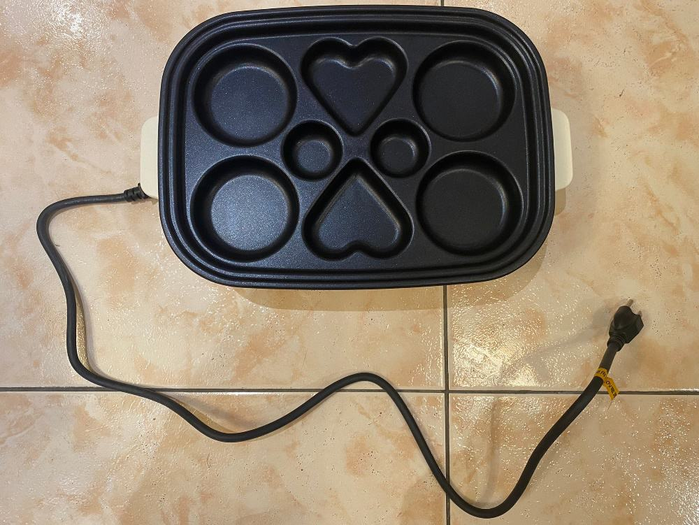 伊德爾電烤盤缺點:電線有點短