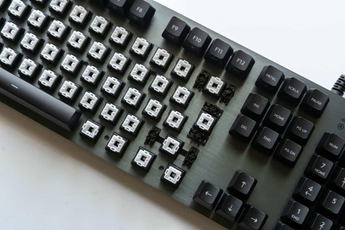 機械式鍵盤軸承的種類