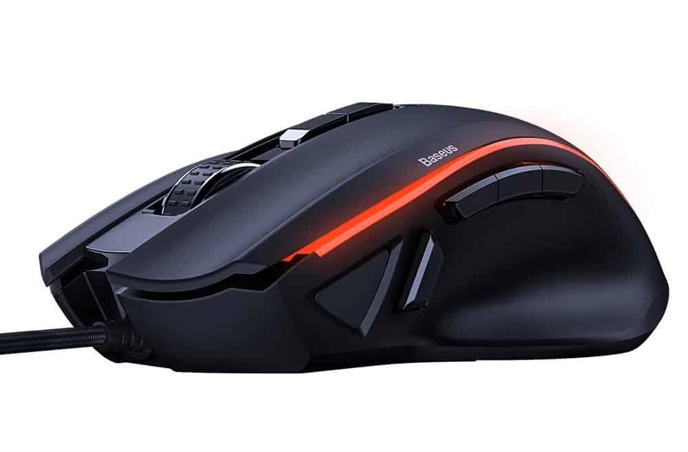 【BASEUS】GAMO九鍵編程遊戲滑鼠 有線電競滑鼠 GM01