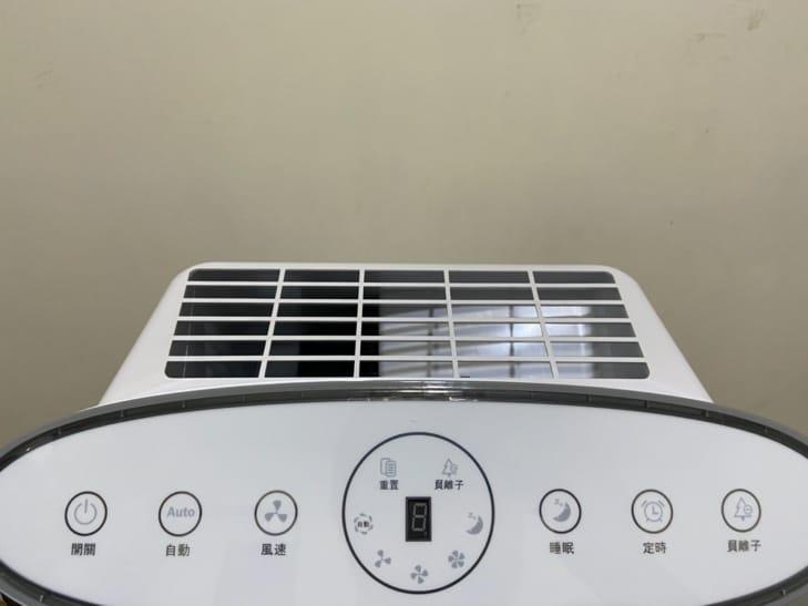 【ENLight】負離子空氣清淨機-功能按鍵