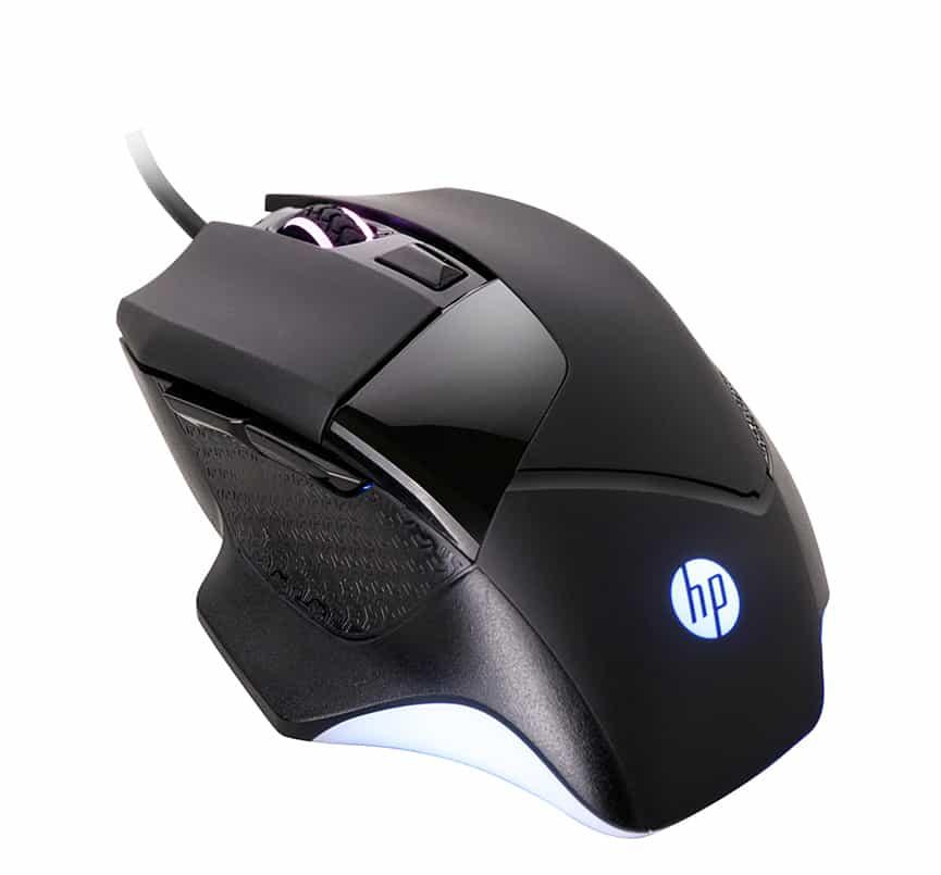 【HP 惠普】有線電競滑鼠 G200