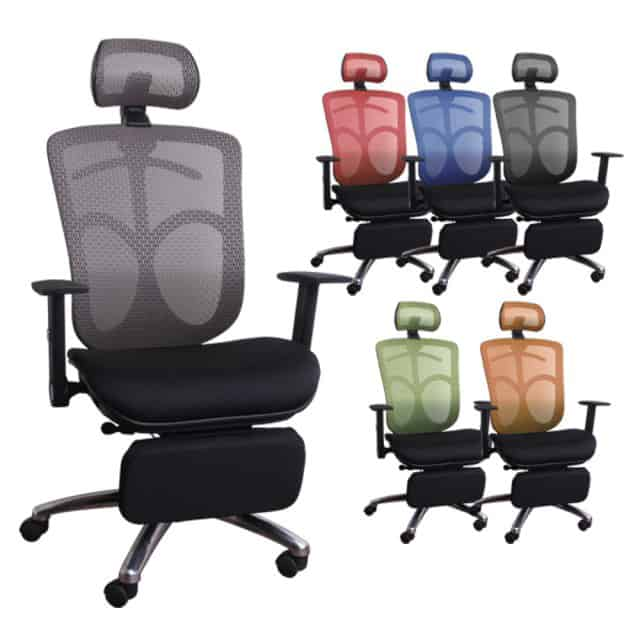 【LOGIS】奧傑提斯 坐臥兩用 電腦椅 辦公椅