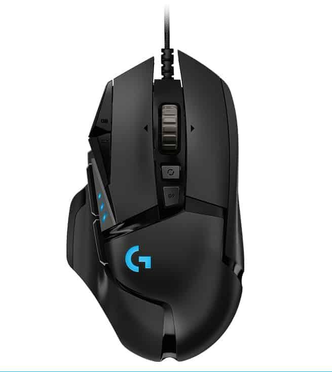 【Logitech G】有線電競滑鼠 G502 Hero