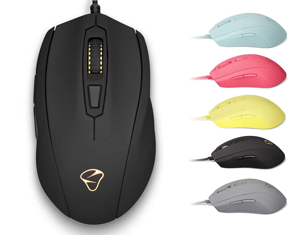 【MIONIX】Castor Black 人體工學有線電競滑鼠