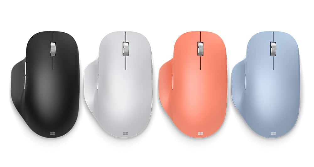 【Microsoft 微軟】藍牙人體工學滑鼠