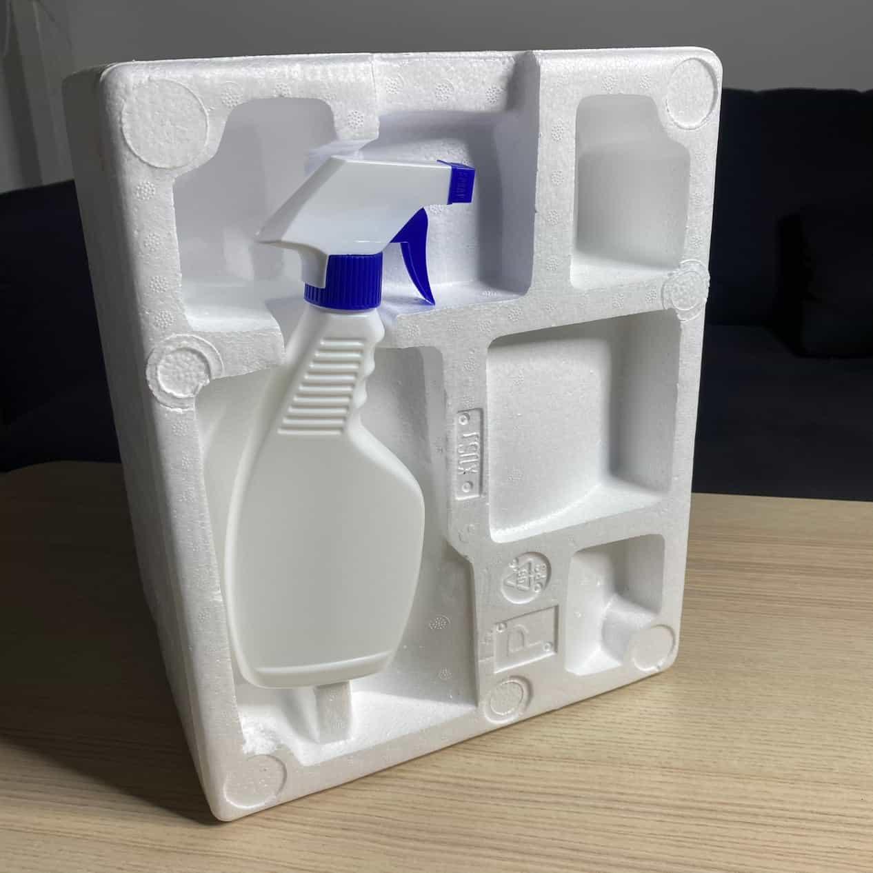 凱撒次氯酸水製造機保麗龍保護包裝