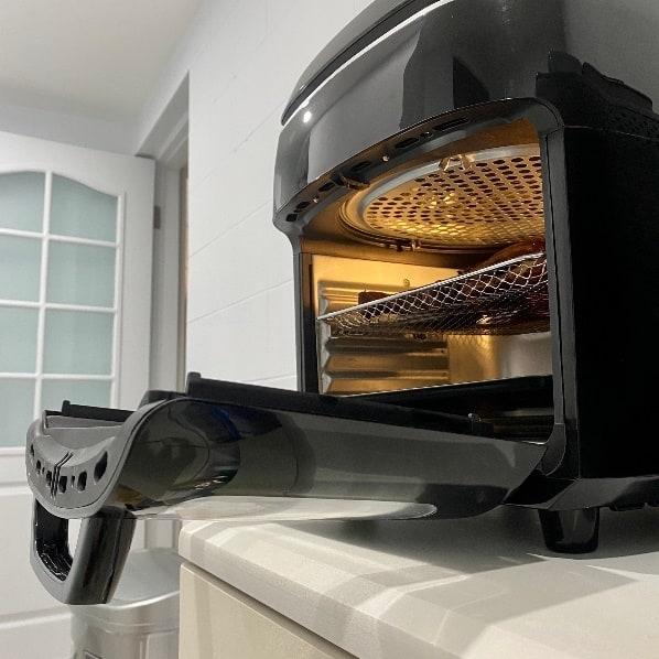 AF-1210BA 多功能氣炸烤箱-可拆式防噴均勻網