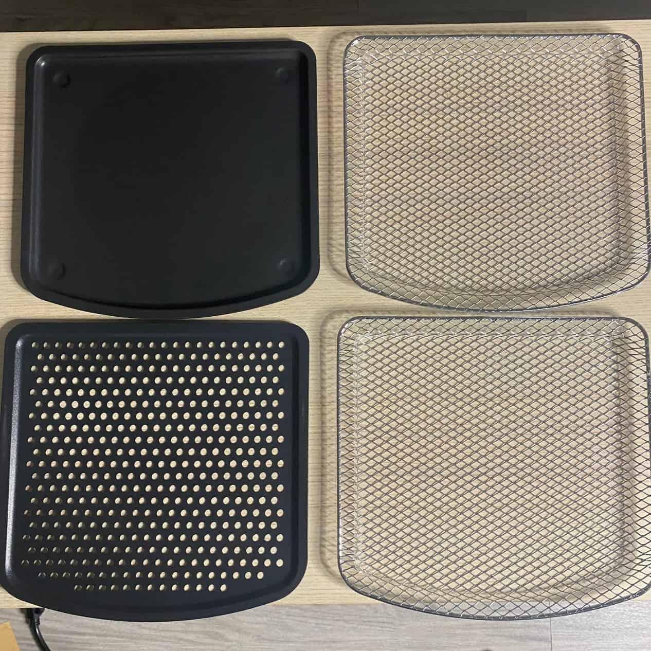 AF-1210BA 多功能氣炸烤箱-四種烤盤