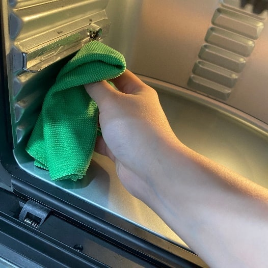 AF-1210BA 多功能氣炸烤箱-方便清潔