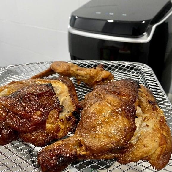 AF-1210BA 多功能氣炸烤箱-烤雞腿完美色澤