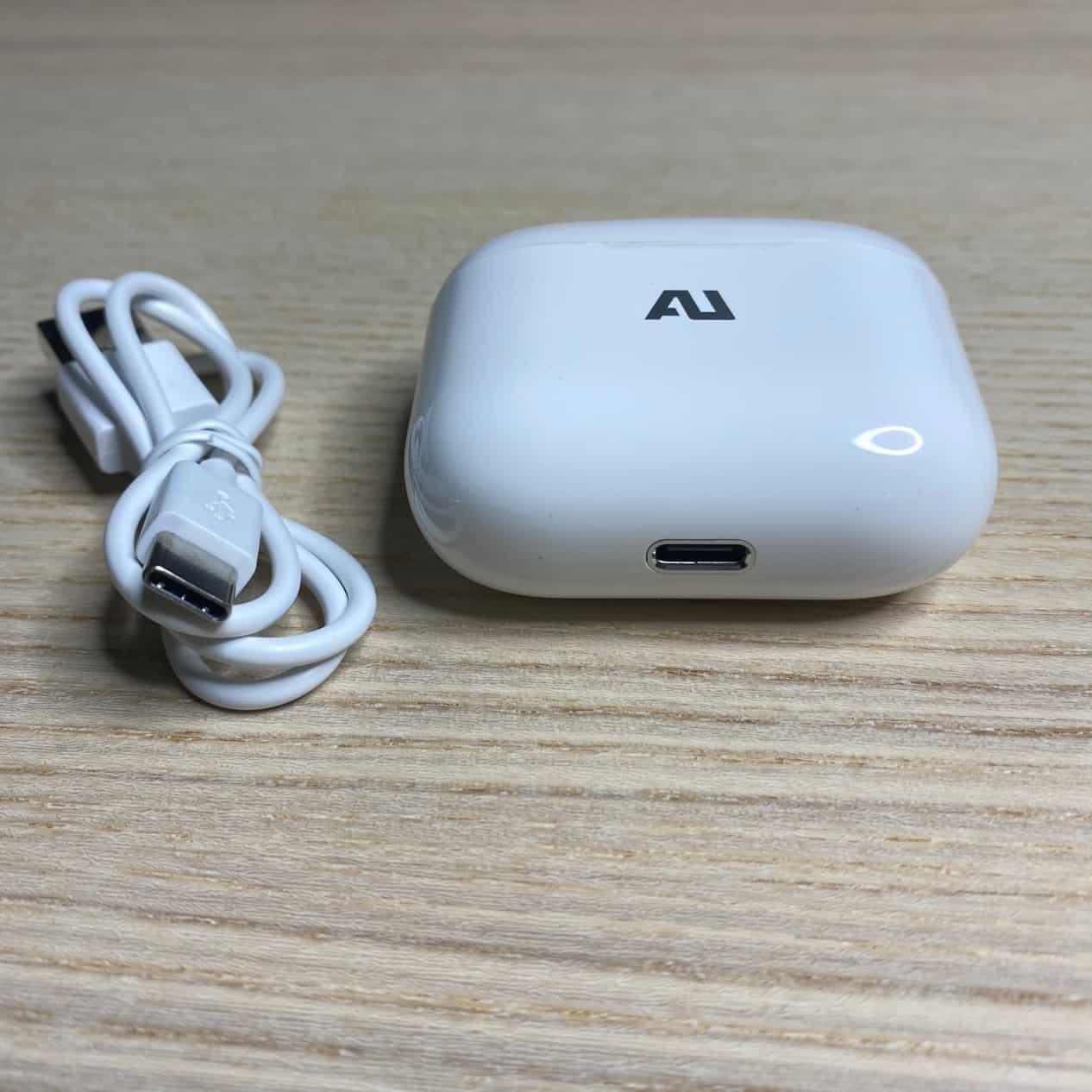 AU-stream真無線藍牙耳機-充電插槽
