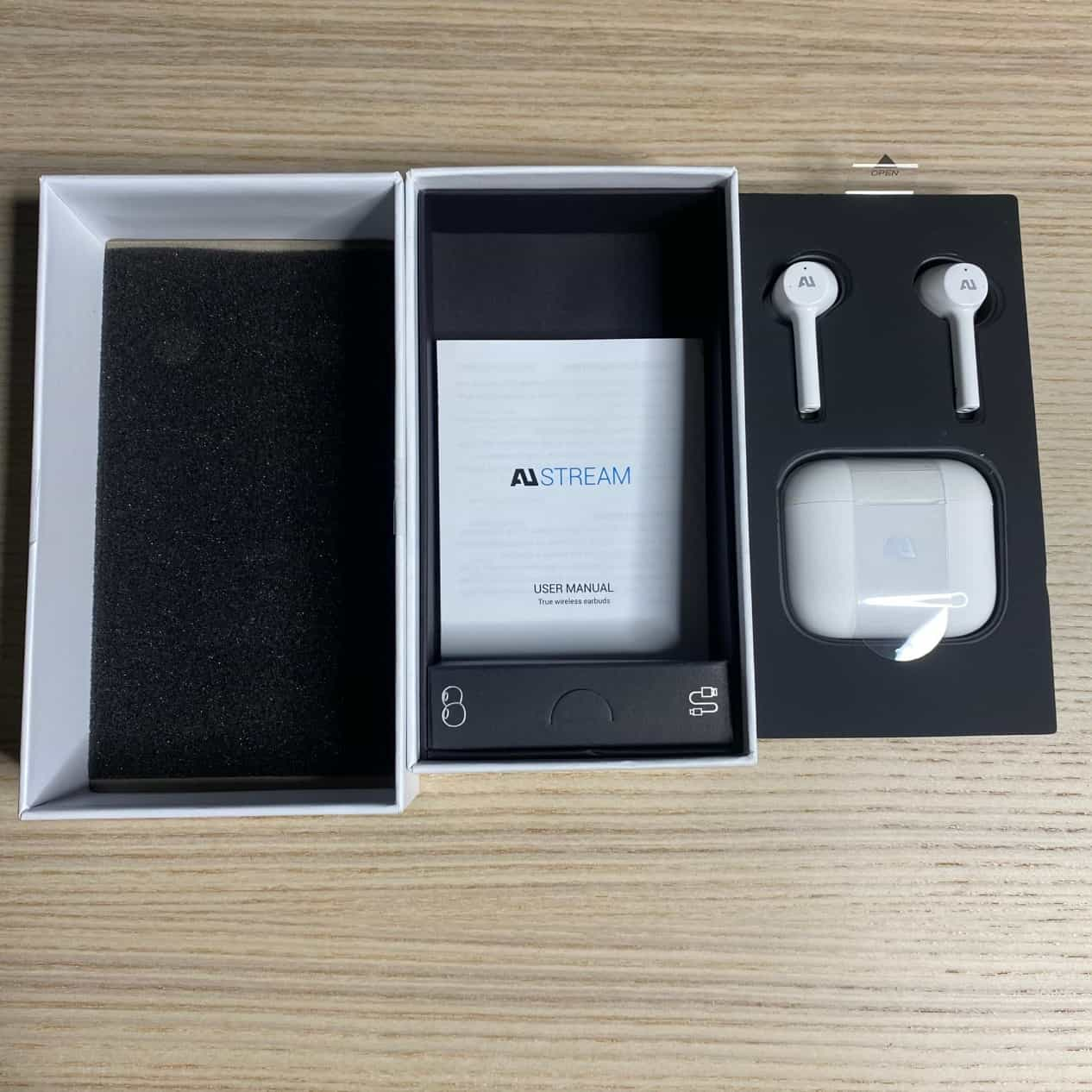 AU-stream真無線藍牙耳機-內部配置