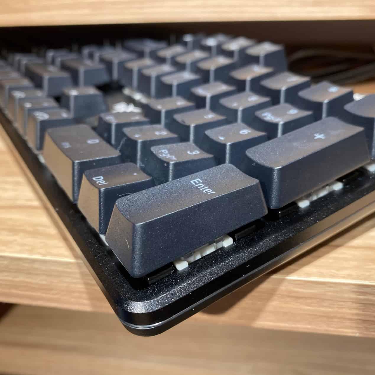 FXR-HKM-61旋音戰狐機械電競鍵盤-楊極鋁合金上蓋