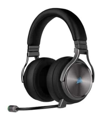 【CORSAIR 海盜船】VIRTUOSO RGB 無線電競耳機 麥克風