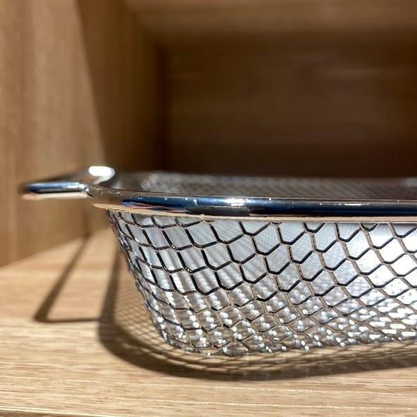 伊崎氣炸烤箱-凹型狀的網籃
