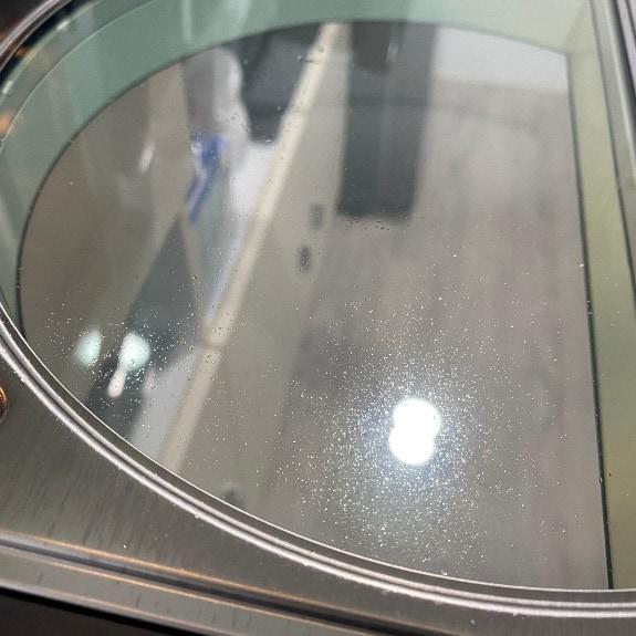伊崎氣炸烤箱-油噴到玻璃門