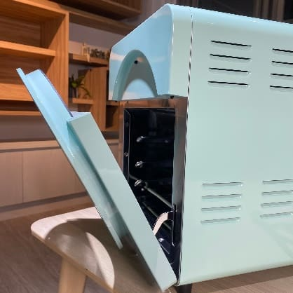 伊崎氣炸烤箱-開合烤箱門