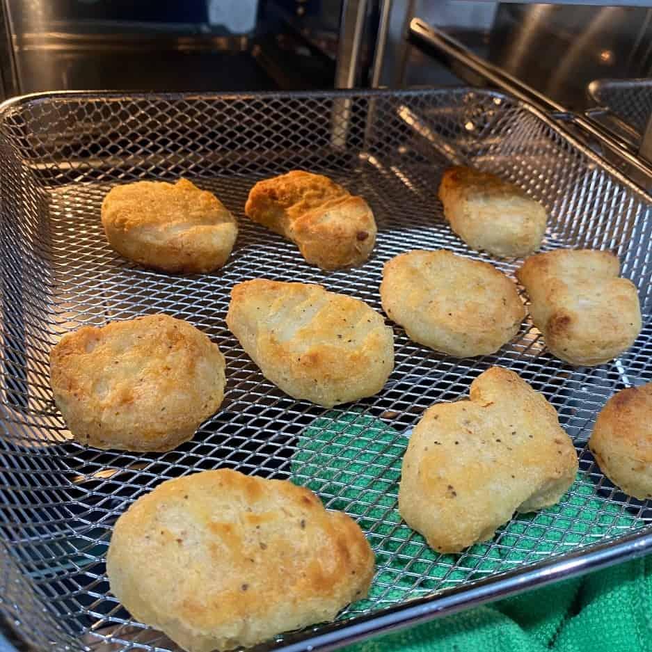 伊崎氣炸烤箱-雞塊完美烤出