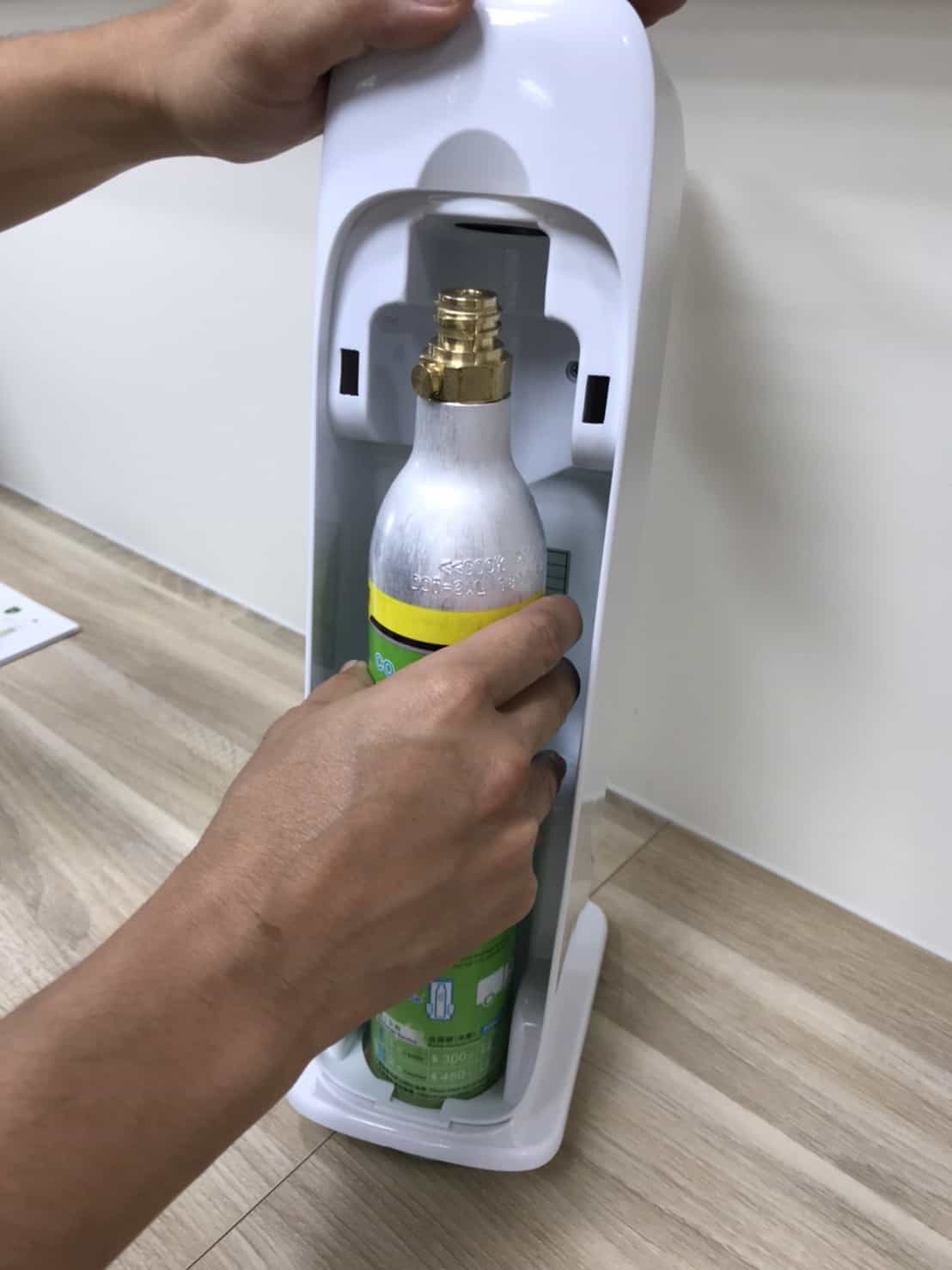 鍋寶氣泡水機安裝