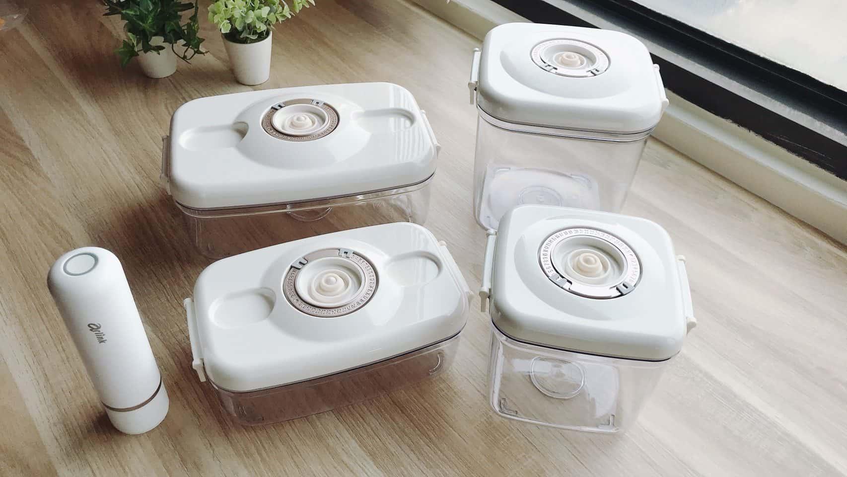 Arlink 真空棒專用真空保鮮盒