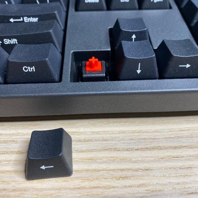 Zero-3108機械鍵盤-下凹式設計鍵盤基座