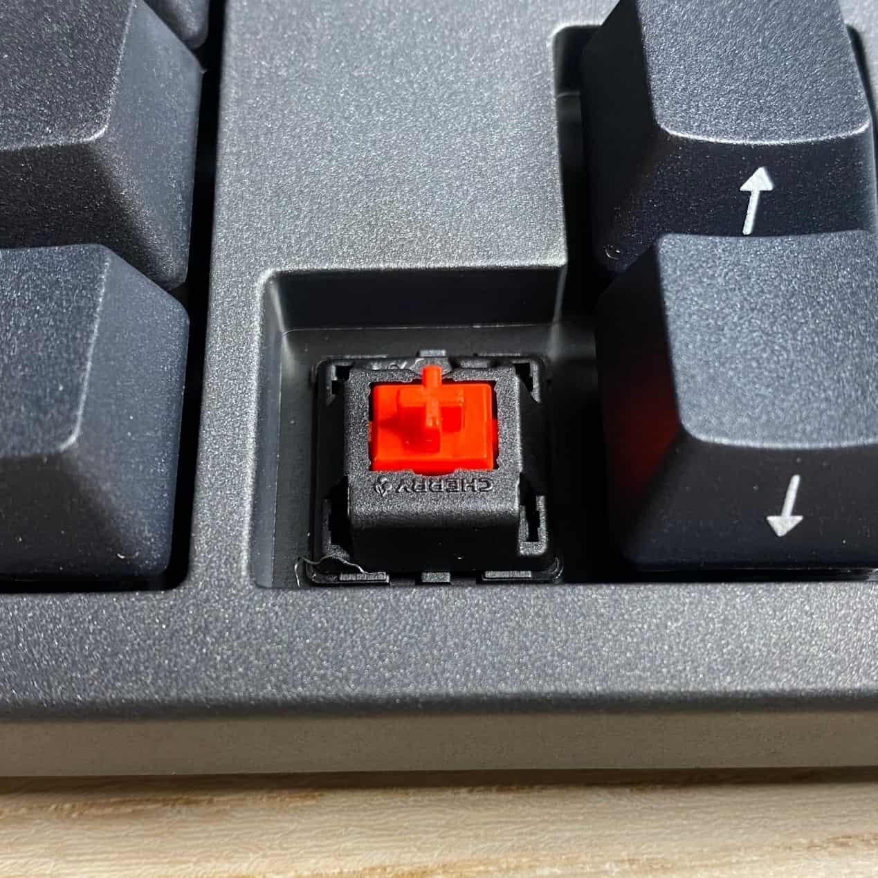 Zero-3108機械鍵盤-使用德國 Cherry MX 機械軸