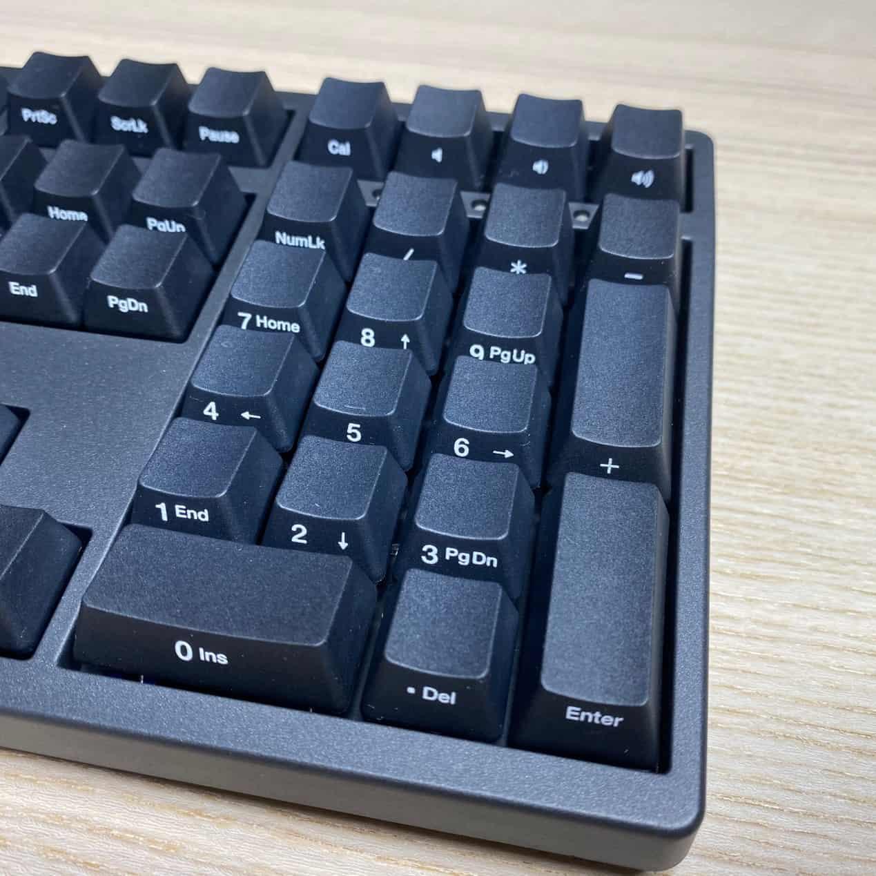 Zero-3108機械鍵盤-側面-音量與小算盤按鍵