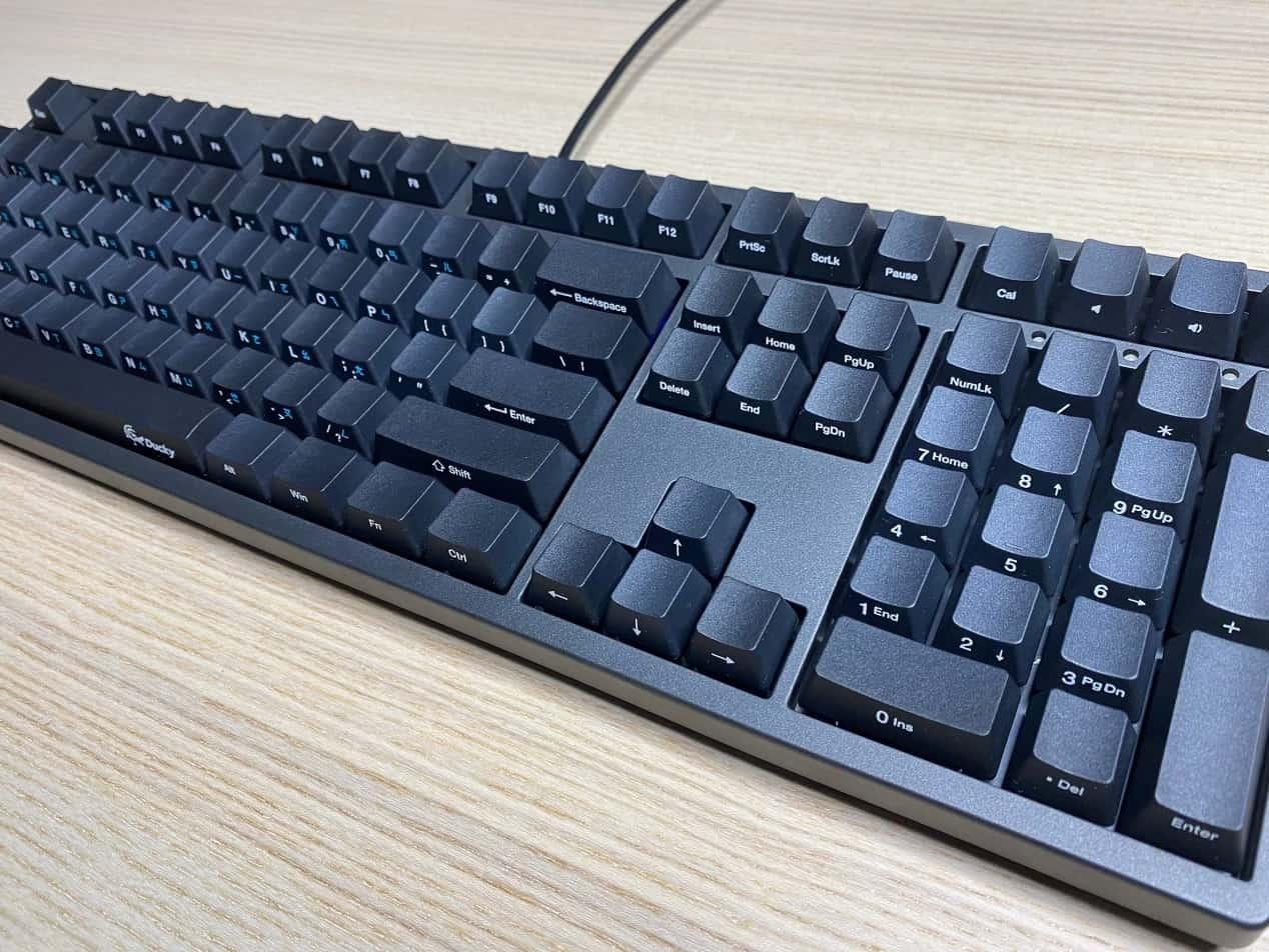 Zero-3108機械鍵盤-側面