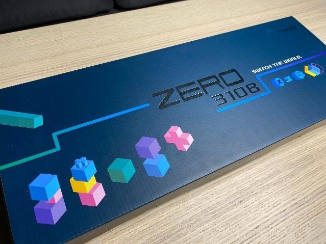 Zero-3108機械鍵盤-包裝盒
