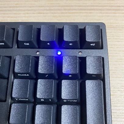 Zero-3108機械鍵盤-大寫鎖定
