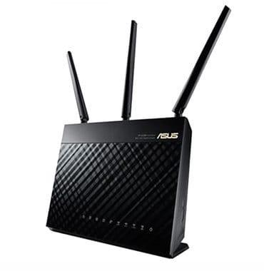 【ASUS 華碩】RT-AC68U AC1900 Ai Mesh 雙頻無線WI-FI分享器 路由器